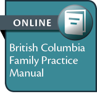 BC Family Practice Manual--ONLINE ACCESS