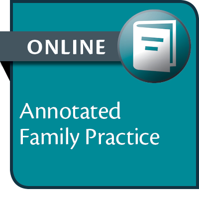 Annotated Family Practice--ONLINE ONLY