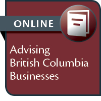 Advising British Columbia Businesses--ONLINE