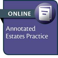 Annotated Estates Practice--ONLINE ACCESS