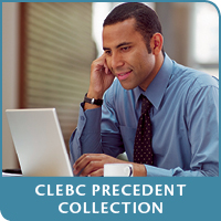 CLEBC Precedent Collection