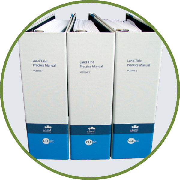 Land Title Practice Manual - Print