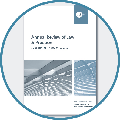 Annual Review of Law & Practice