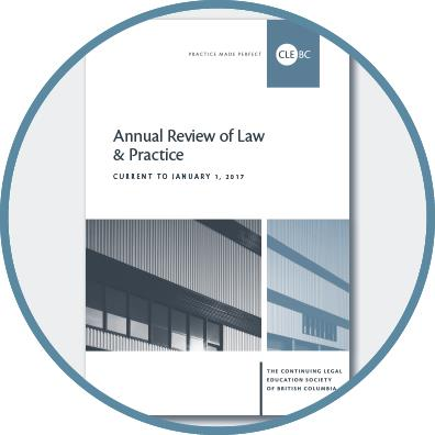 Annual Review of Law & Practice - 2017
