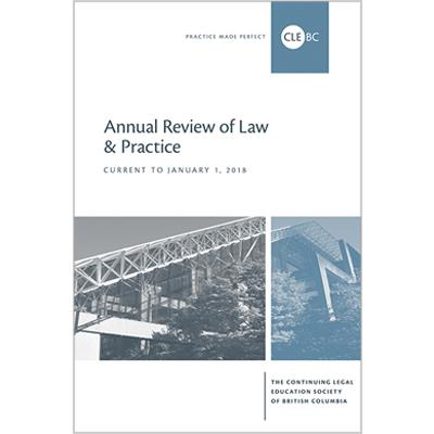 Annual Review of Law & Practice - 2018